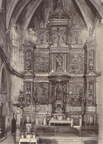 Valls. Església de Sant Joan. Altar Major | Català i Pic, Pere