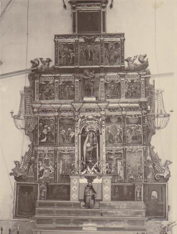 Valls. Església del Roser. Retaule | Català i Pic, Pere