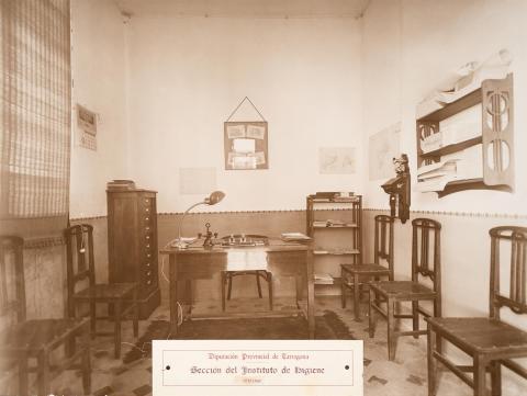 Tarragona. Institut d'Higiene. Oficines | Vallvé Vilallonga, Hermenegild