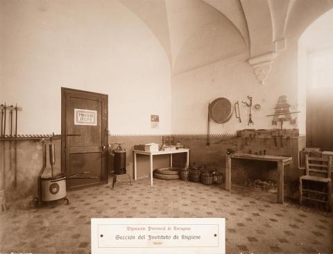 Tarragona. Institut d'Higiene. Taller | Vallvé Vilallonga, Hermenegild