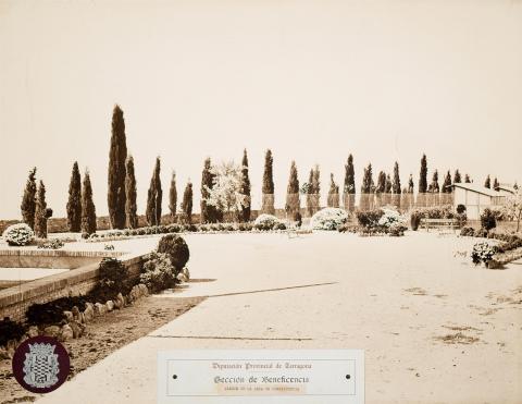 Tarragona. Casa de Beneficencia. Jardins | Vallvé Vilallonga, Hermenegild