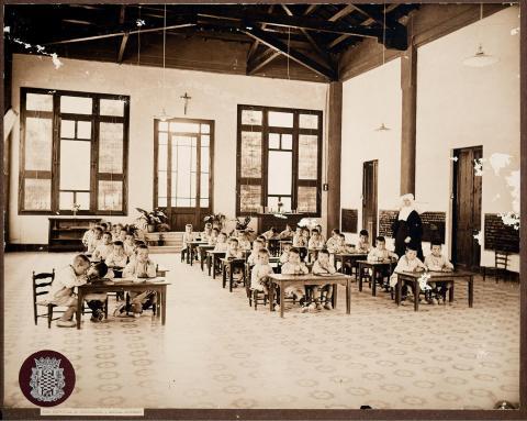 Tarragona. Casa de Beneficència. Escola Montesori | Vallvé Vilallonga, Hermenegild