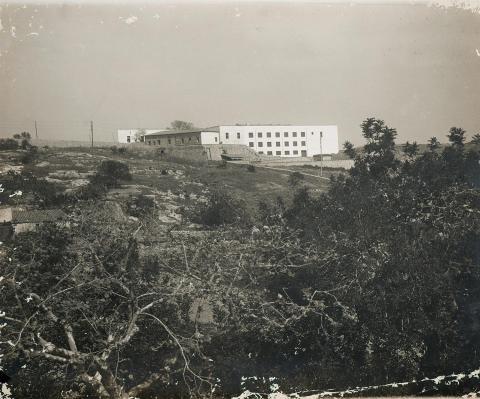 Tarragona. Sanatori Nostra Senyora de la Salut. Façana parcial | Vallvé Vilallonga, Hermenegild