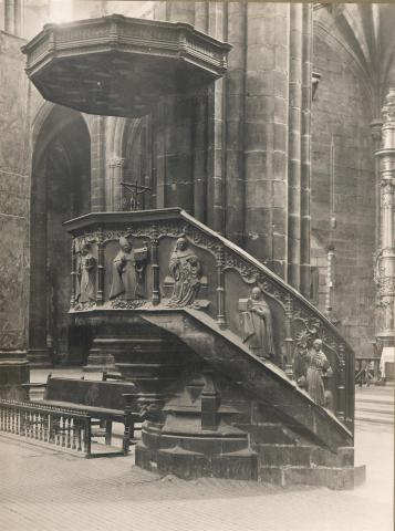 Tortosa. Catedral. Púlpit | Borrell i Codorniu, Ramon (Tortosa, 1869 - 1948)