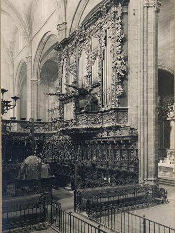 Tortosa. Catedral. Cor i orgue | Borrell i Codorniu, Ramon (Tortosa, 1869 - 1948)