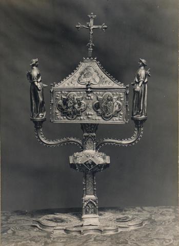 Tortosa. Catedral. Reliquiari de Benet XIII. | Borrell i Codorniu, Ramon (Tortosa, 1869 - 1948)