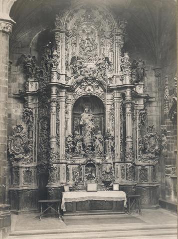 Tortosa. Catedral. Altar de Santa Rosa | Borrell i Codorniu, Ramon (Tortosa, 1869 - 1948)