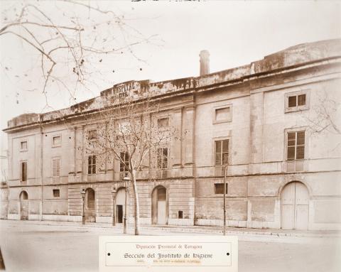 Reus. Hospital Civil. Façana principal | Vallvé Vilallonga, Hermenegild