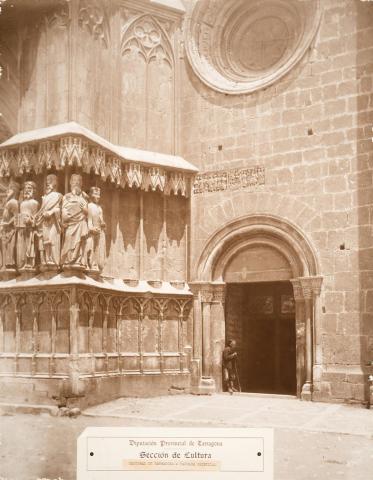 Tarragona. Catedral. Façana principal | Vallvé Vilallonga, Hermenegild