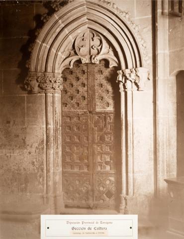 Tarragona. Catedral. Porta | Vallvé Vilallonga, Hermenegild