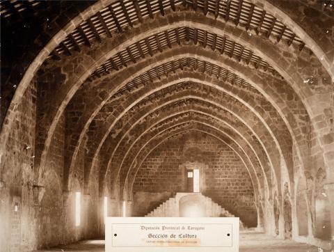 Monestir de Santes Creus. Dormitori de novicis | Vallvé Vilallonga, Hermenegild