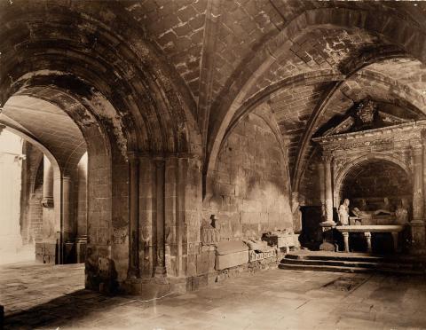 Monestir de Poblet. Galilea de l'Església | Vallvé Vilallonga, Hermenegild