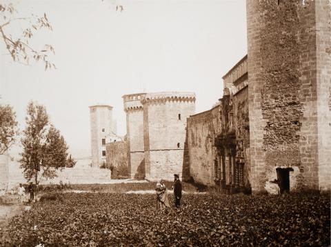 Monestir de Poblet. Porta Reial | Vallvé Vilallonga, Hermenegild