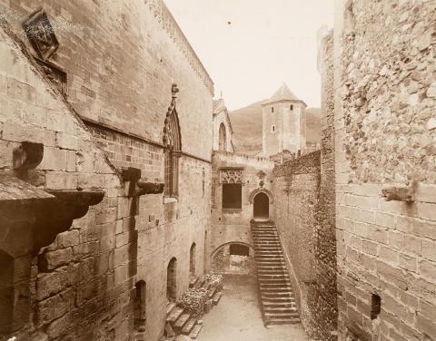 Monestir de Poblet. Palau Reial | Vallvé Vilallonga, Hermenegild