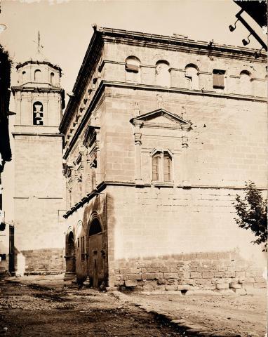 Arnes. Ajuntament i Torre de l'església | Vallvé Vilallonga, Hermenegild