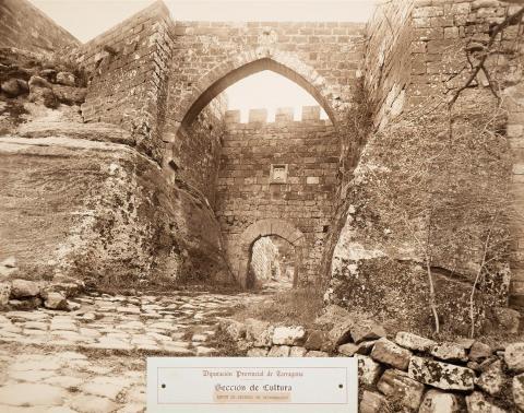 Castell d'Escornalbou. Arcs d'ingrés | Vallvé Vilallonga, Hermenegild