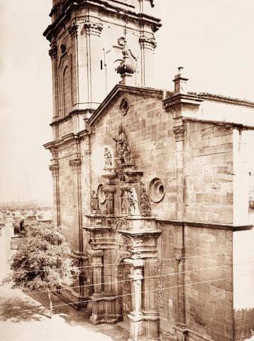 Villalba dels Arcs. Façana de l'església | Vallvé Vilallonga, Hermenegild