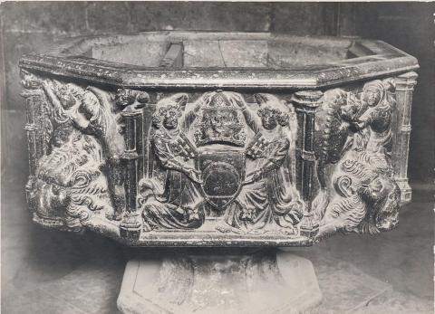 Tortosa. Catedral. Pila Baptismal | Vallvé Vilallonga, Hermenegild