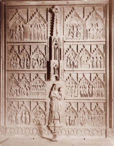 Tarragona. Catedral. Capella dels Sastres. Retaule de Santa Maria | Vallvé Vilallonga, Hermenegild