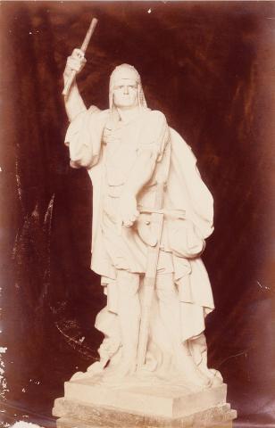 Tarragona. Maqueta de l'escultura de Roger de Llúria. | Vallvé Vilallonga, Hermenegild