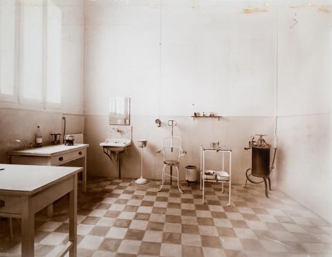 Tarragona. Institut d' Higiene. Sala de vacunes | Vallvé Vilallonga, Hermenegild
