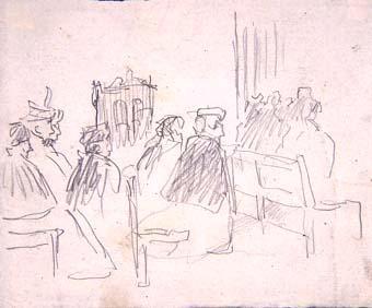 Dones a l'església | Sancho Piqué, Josep