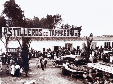 Tarragona. Inauguració Astilleros de Tarragona | Vallvé Vilallonga, Hermenegild