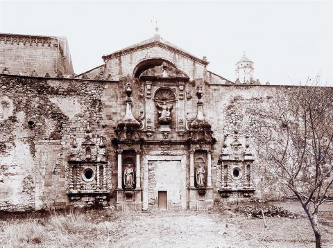Monestir de Poblet. Façana | Vallvé Vilallonga, Hermenegild