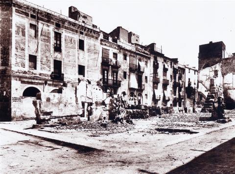 Tarragona. La plaça del Fòrum | Vallvé Vilallonga, Hermenegild