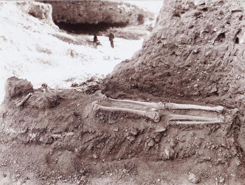 Tarragona. Plaça Corsini. Vista de las excavacions del forum | Vallvé Vilallonga, Hermenegild