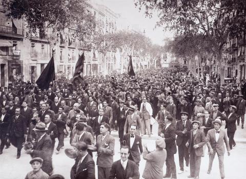 La proclamació de la Segona República. | Vallvé Vilallonga, Hermenegild