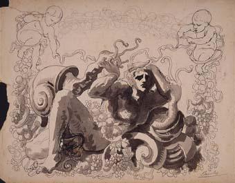 Motiu ornamental | Sancho Piqué, Josep