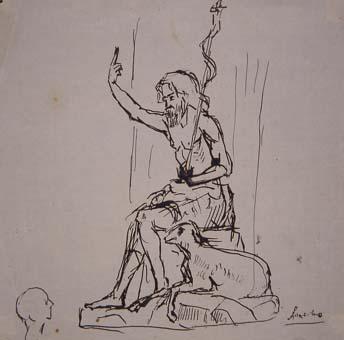 Sant Joan Baptista | Sancho Piqué, Josep