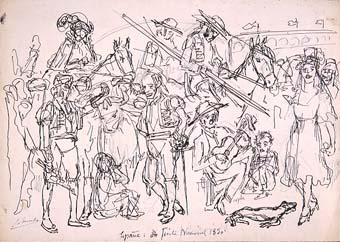España Fiesta Nacional. 1830 | Sancho Piqué, Josep