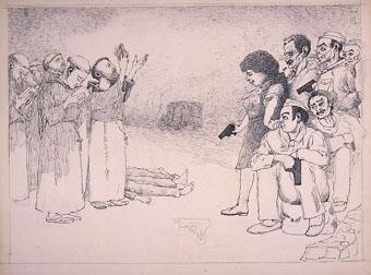 "Horrors d'una guerra: ""Gracia concedida. ¡esperan terminen un rezo para matarles!"" | Sancho Piqué, Josep"