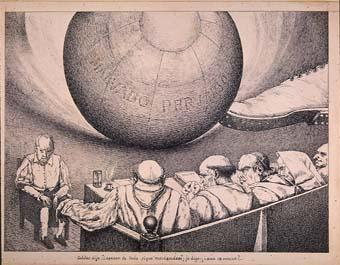 "Horrors d'una guerra: ""Galileo dijo: ¡a pesar de todo sigue moviéndose jo digo: ¿aún se mueve? ..."" | Sancho Piqué, Josep"