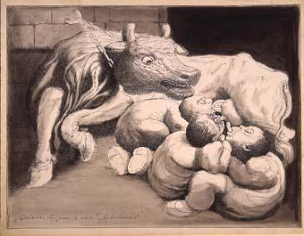 "Horrors d'una guerra: ""¿Quienes chupan la vaca? ...¡los Bribones!"" | Sancho Piqué, Josep"