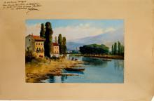 Río Arno-Florencia | Martínez Checa, Fernando