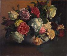 Gerro amb flors | Sancho Piqué, Josep