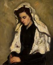 Noia amb mantellina blanca | Lahosa Valimaña, Joan
