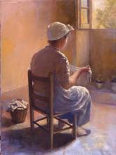 Dona amb mocador al cap | Sancho Piqué, Josep