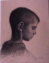 Perfil de nen | Sancho Piqué, Josep
