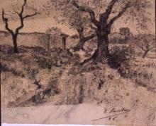 Afores del poble | Sancho Piqué, Josep