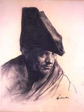 Hombre con sombrero napoleónico | Sancho Piqué, Josep