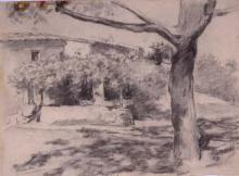 Afueras de masia | Sancho Piqué, Josep