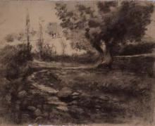 Paisatge, sèquia | Sancho Piqué, Josep