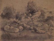Paisatge, roques | Sancho Piqué, Josep