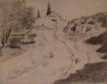 Entrada del cementeri | Sancho Piqué, Josep