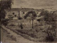 Barri amb mas | Sancho Piqué, Josep