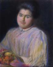 Noia amb cistell | Sancho Piqué, Josep